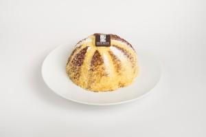 Cupola di pan di Spagna con cioccolato