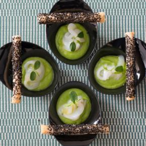 Assaggio di seppia in salsa verde