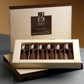 Scatola cucchiaini di cioccolato